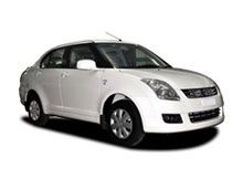 Location de voiture Inde Maruti swift dezire
