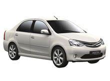 Location de voiture Inde Toyota Etios