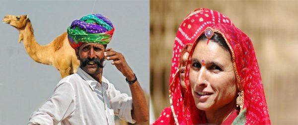 Circuit sari turban Rajasthan Inde - Voyage au nord