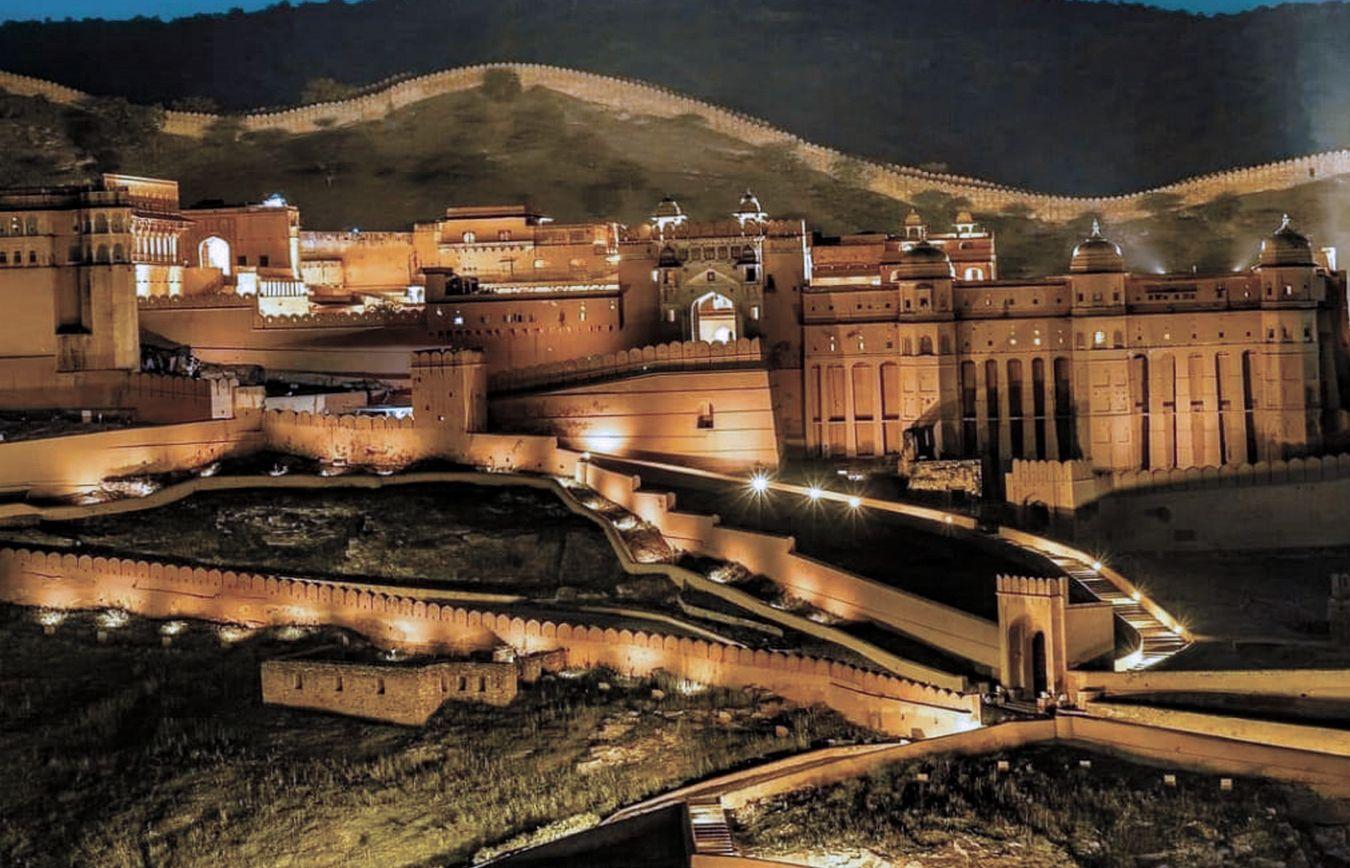 Voyage au Rajasthan a jaipur en Inde fort d'amber
